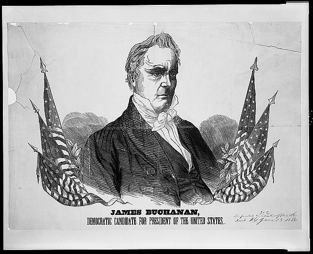 James Buchanan, Democratic candidate for President of the United States