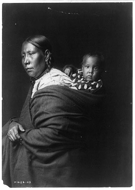 Mother and child--Ogalala