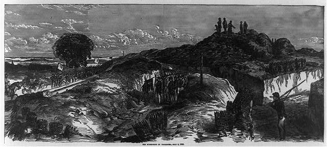 The surrender of Vicksburg, July 4, 1863
