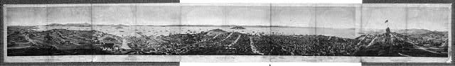 San Francisco, 1862, from Russian Hill