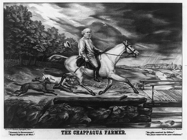 The Chappaqua farmer