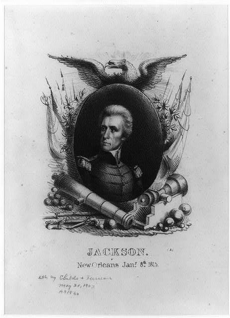 Jackson, New Orleans, Jany. 8th, 1815