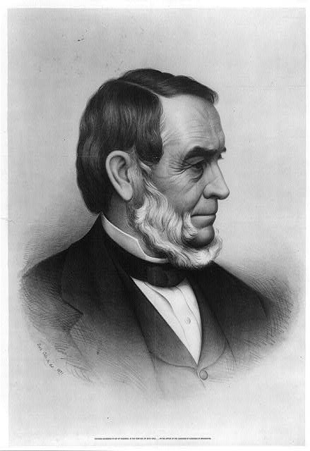 [Rev. Samuel Joseph May, head-and-shoulders portrait, facing right]