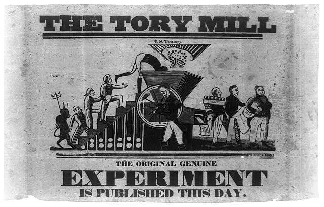 The Tory mill. The original genuine experiment is published this day