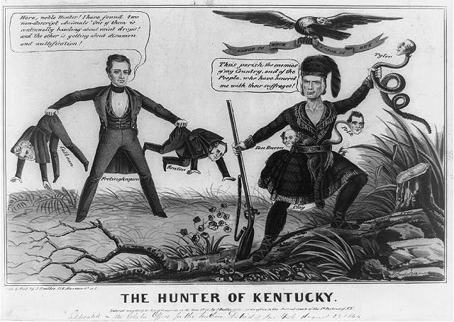 The hunter of Kentucky