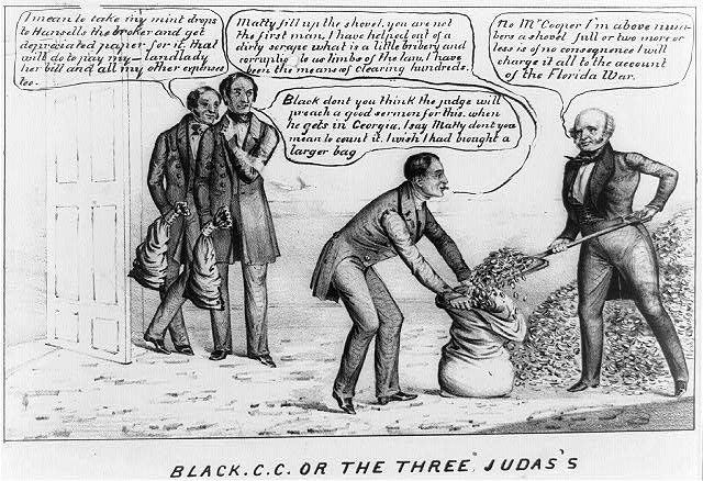 Black C.C. or the three Judas's