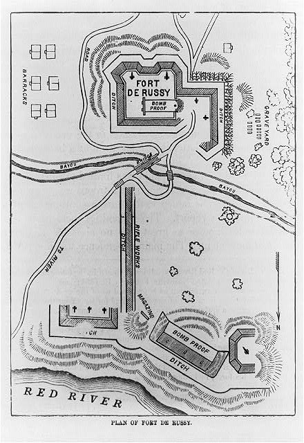 Plan of Fort De Russy