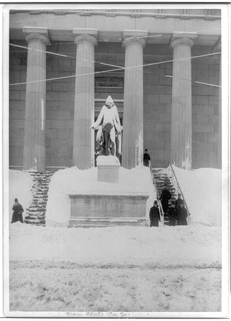 [Washington Statue, Sub-treasury, New York City]