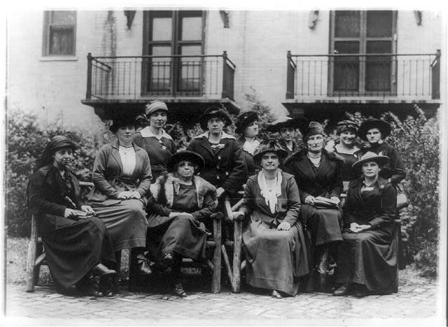 Delegates to the first International Congress of Working Women to be held in Washington