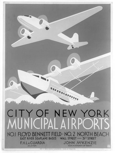 City of New York municipal airports No. 1 Floyd Bennett Field - No. 2 North Beach.