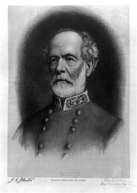 [Joseph Eggleston Johnston, head-and-shoulders portrait, facing left]
