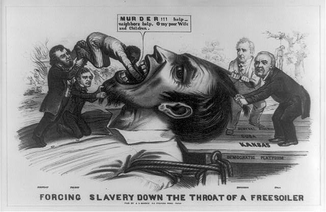 an analysis of the republican party born in the early 1850s by anti slavery activists The kansas-nebraska act and the republican party  attitudes toward slavery in the 1850s were represented  and the whig party, in decline in the early 1850s, .
