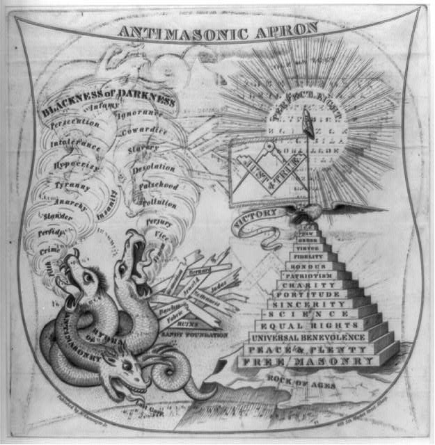 Anti-Masonic apron