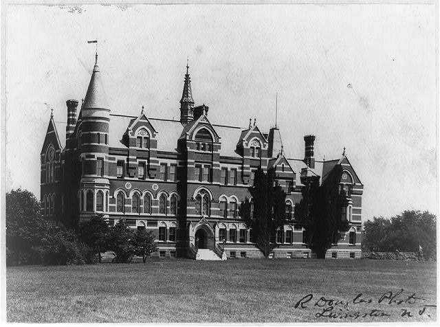 D.C. Washington--Gallaudet College--1897--Exterior