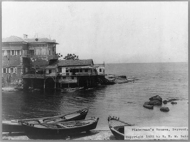 Fisherman's houses, Beyrout