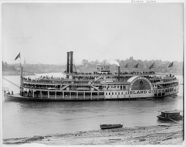 The Island Queen, Cincinnati, Ohio