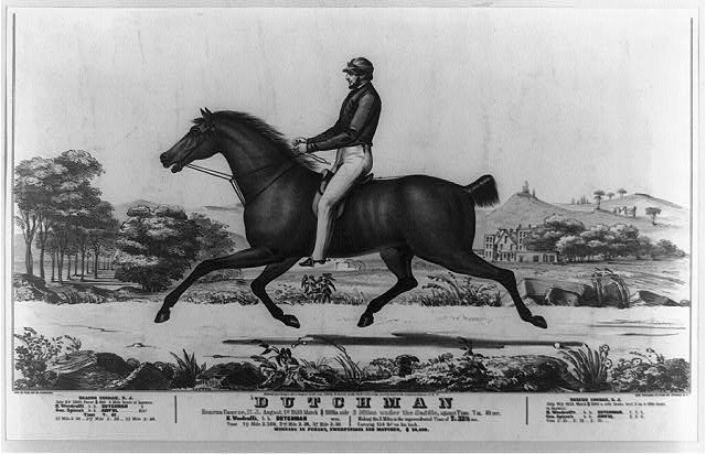 Dutchman: Beacon course, N.J. August, 1st 1839. Match $1000 a side 3 miles under saddle, against time 7m. 49 sec