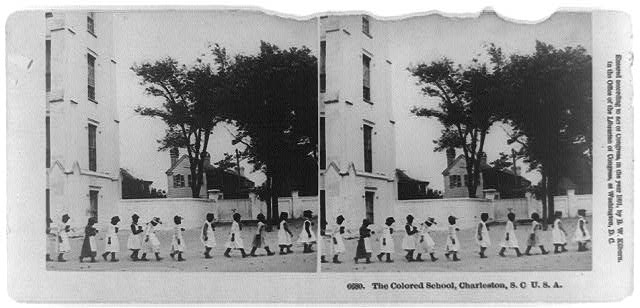 The colored school, Charleston, S.C., U.S.A.