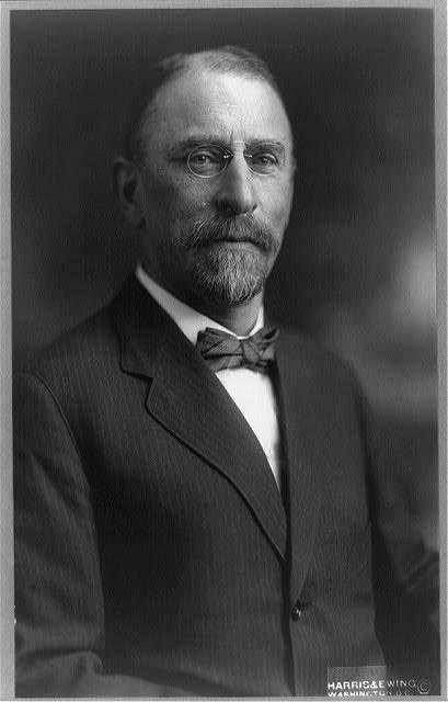 [Henry Morgenthau, half-length portrait, facing right]