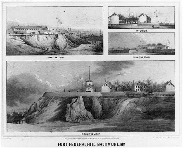 Fort Federal Hill, Baltimore, Md.