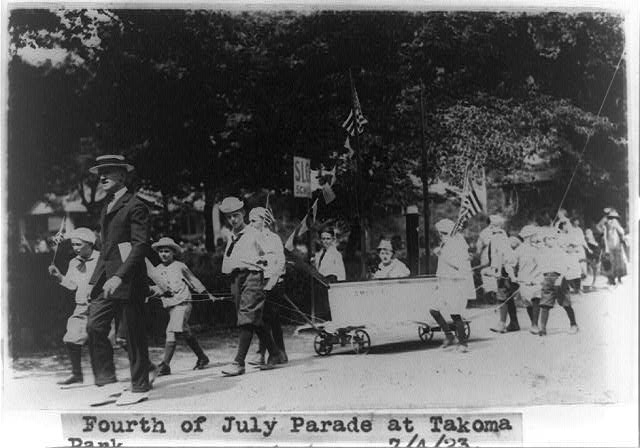Fourth of July parade at Takoma Park