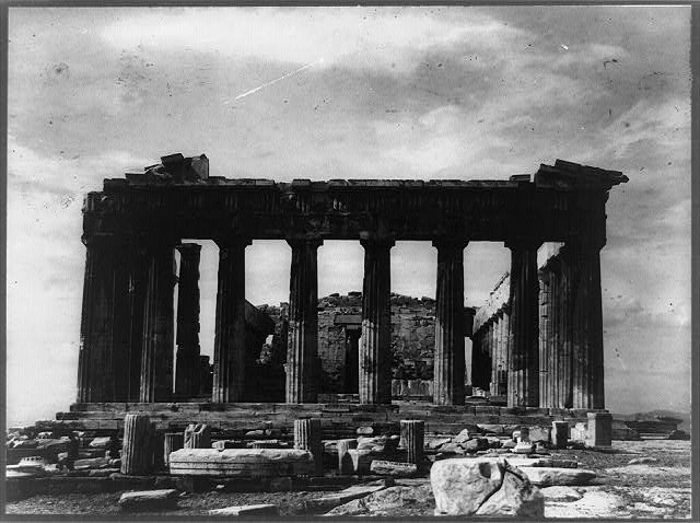 [Acropolis, Parthenon, east side, Athens, Greece]