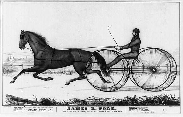 James K. Polk, Union Course, L.I., Friday, Oct. 15, 1847