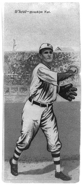 [Zack D. Wheat/William Bergen, Brooklyn Dodgers, baseball card portrait]