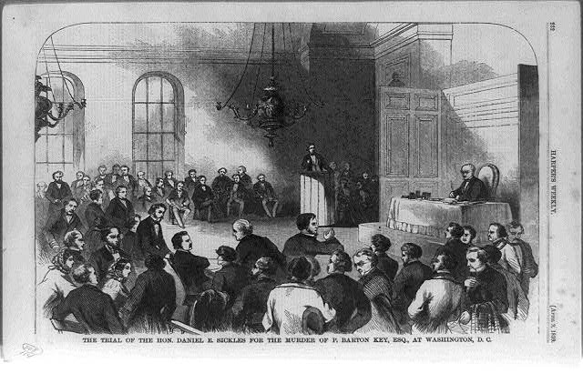 The Trial of the Hon. Daniel E. Sickles for the murder of P. Barton Key, Esq., at Washington, D.C.