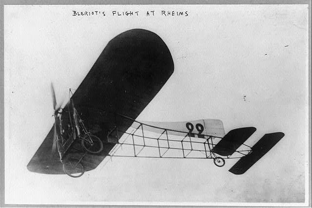 Blériot's flight at Rheims