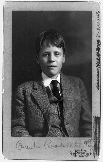 [Quentin Roosevelt, half-length portrait, facing front]
