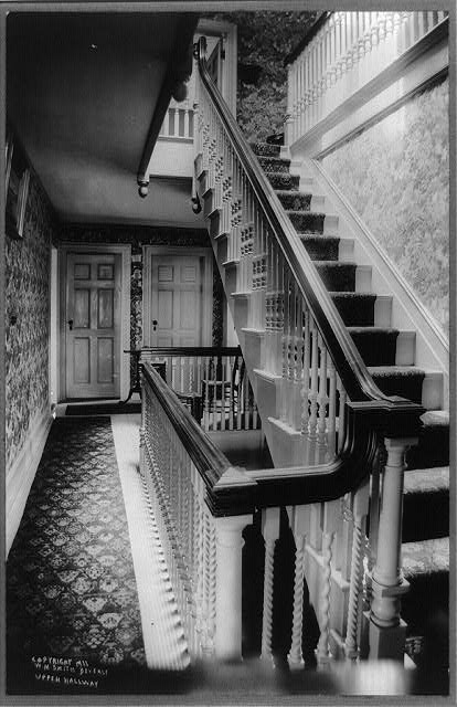 [Upper hallway in President Taft's home, Beverly, Mass.]