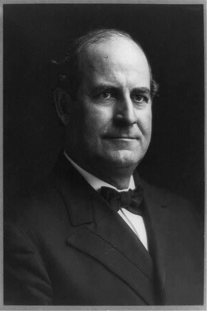 [William Jennings Bryan, head-and-shoulders portrait, facing right]