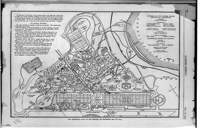 Our centennial--plan of the grounds and buildings