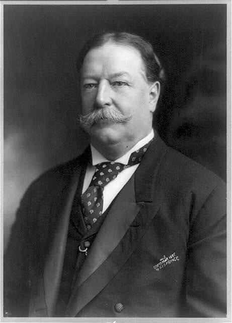 [William Howard Taft, head-and-shoulders portrait, facing left]