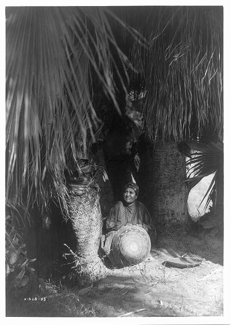 Under the palms--Cahuilla