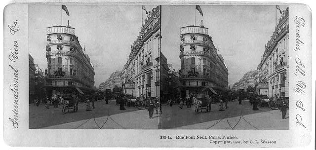 Rue Pont Neuf, Paris, France