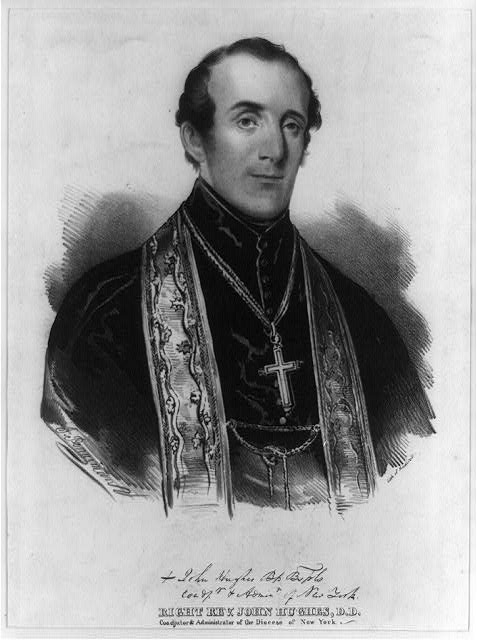 Right Rev. John Hughes, D.D., coadjutor & administrator of the Diocese of New York
