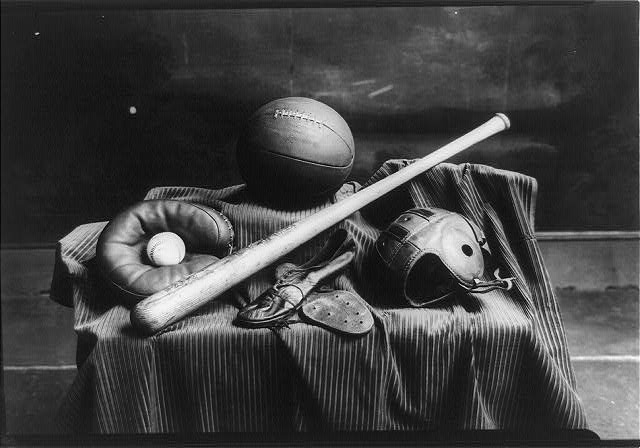 Athletic equipment, Eastern High School, Washington, D.C.