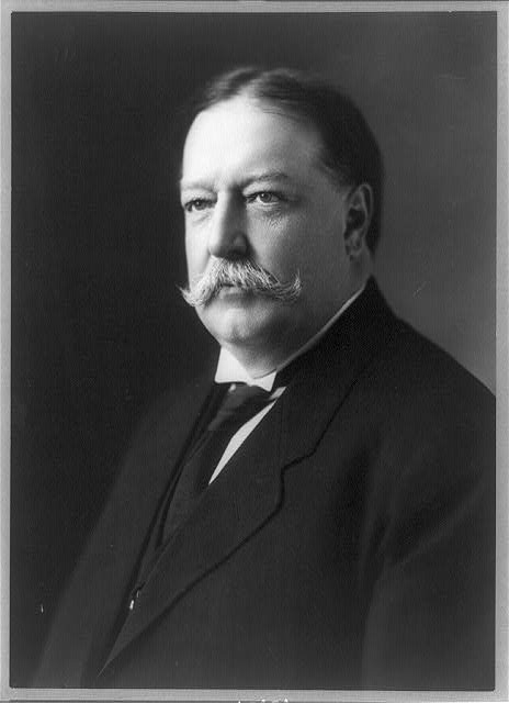 [William H. Taft, head-and-shoulders portrait, facing left]