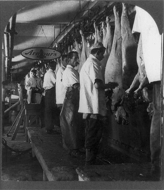 upton sinclair and the problems with meat packing industry Problems in the meat-packing industry in five pages, the meat packing industry is explored charges that the industry is not looking out for their workers is examined with the use of.