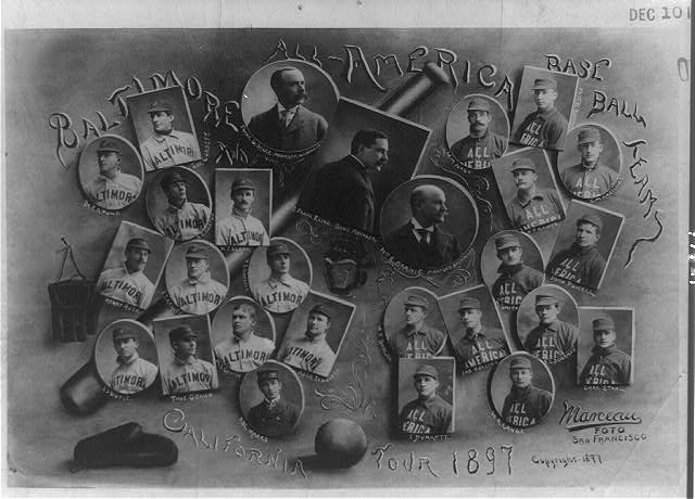 Baltimore and All-America base ball teams, California tour 1897
