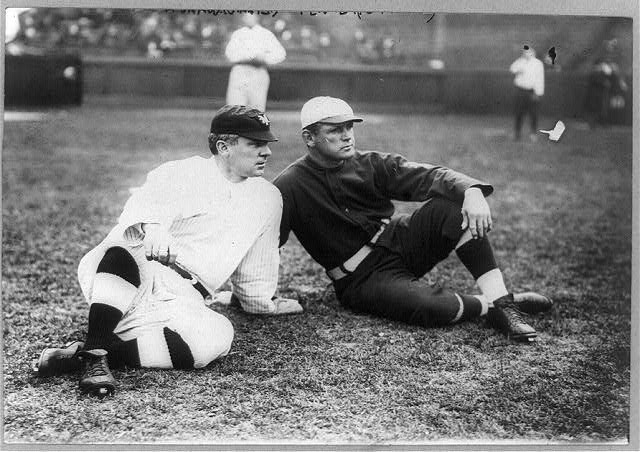 [Player-managers John McGraw, New York NL, and Fred Tenney, Boston NL (baseball)]