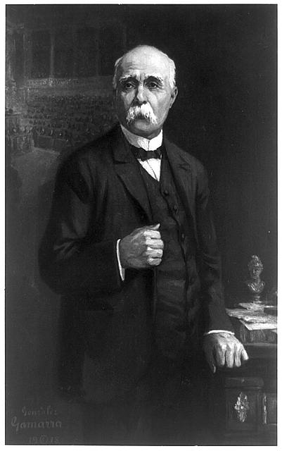 [Georges Clemenceau, three-quarter length portrait, standing, facing slightly left]