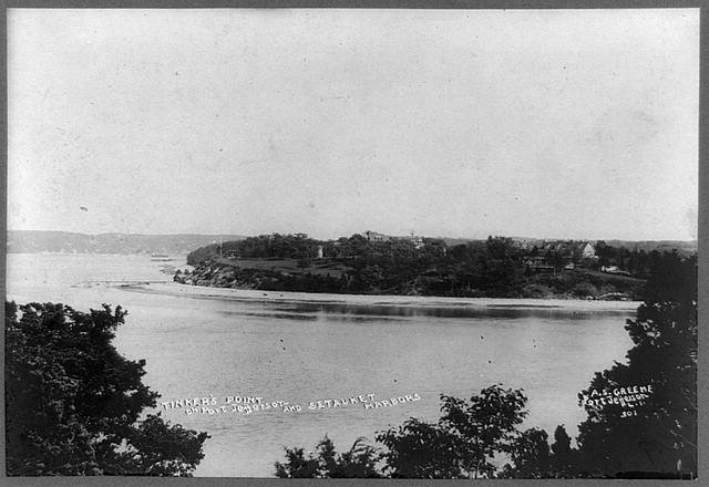Tinker&#39;s Point on Port Jefferson and Setauket harbors