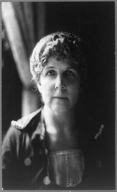 [Florence Kling Harding, head-and-shoulders portrait, facing front]