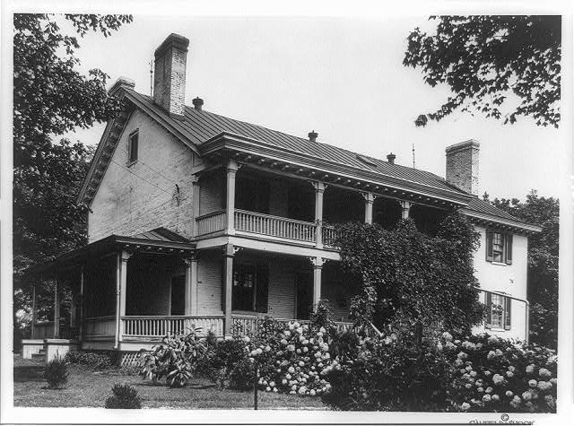 "[Home of Zachary Taylor, ""Springfield,"" Brownsboro Road]"