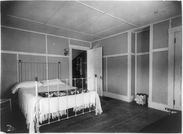 [Bedroom of E.R. Knolt, Boston, Massachusetts]