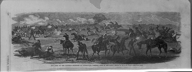 The Army of the Potomac - skirmish at Upperville, Virginia, June 21, 1863
