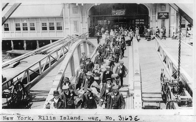 New York. Ellis Island